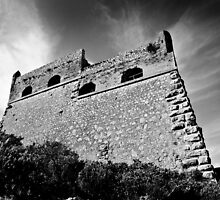 The Castle in Palamidi, Nafplio, Greece by panosmix