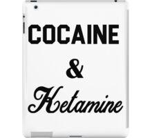 Cocaine & Ketamine iPad Case/Skin