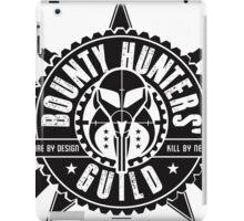 Bounty Hunters Guild iPad Case/Skin