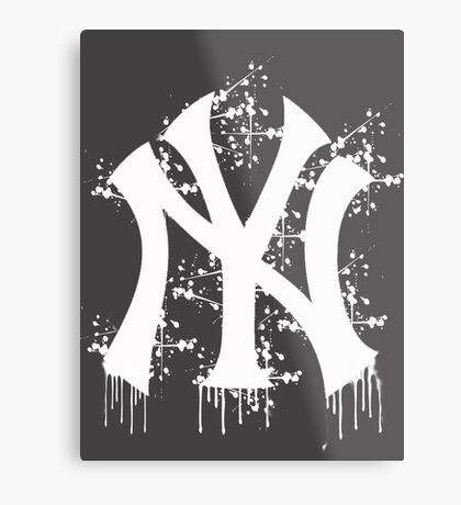 yankee splatter Metal Print