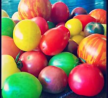 Medley of Tomatoes by kchase