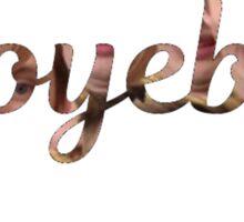 Troyeboy- Troye Sivan Sticker