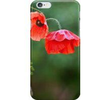 Poppy flowers iPhone Case/Skin