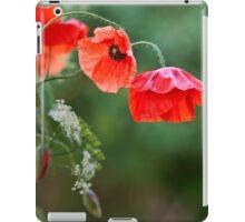Poppy flowers iPad Case/Skin