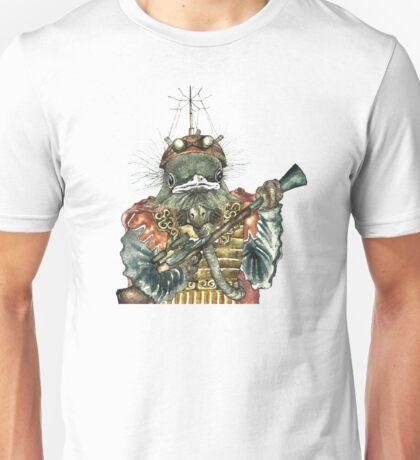 Steampunk Bird Sky Patrol Unisex T-Shirt