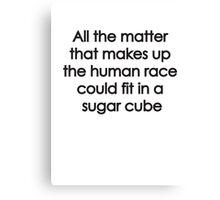 Sugar Cube Canvas Print