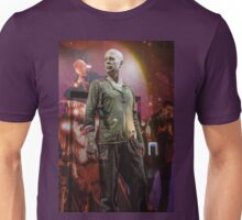 Czech Republic. Prague. Bruce Willis in the Shop Window for Sale. Unisex T-Shirt