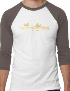 Space Battleship Yamato Men's Baseball ¾ T-Shirt