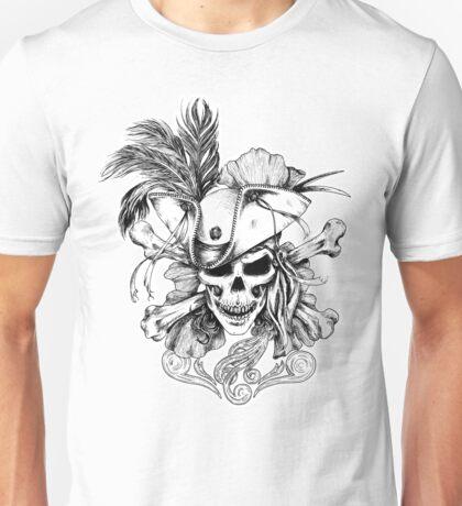 Skull and Crossbones Unisex T-Shirt