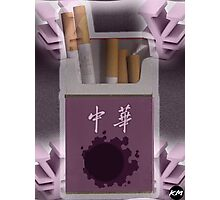 Gastly Cigs Photographic Print