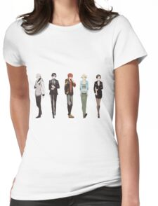 Cutout Group Womens Fitted T-Shirt