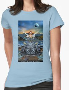 2 of Swords Womens Fitted T-Shirt