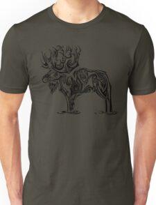 Tribal Moose Unisex T-Shirt