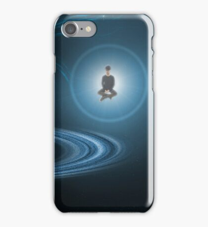 "Kojima Wallpaper ""Never Give Up"" iPhone Case/Skin"