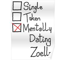Mentally Dating Zoella Poster