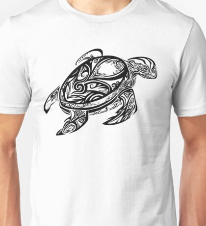 Tribal Turtle Unisex T-Shirt