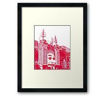 Luna Park Sydney Framed Print
