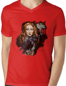 The Raven Witch Rayne Mens V-Neck T-Shirt