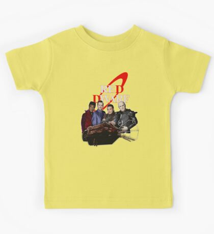 RED DWARF - SHIP AND CREW Kids Tee
