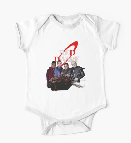 RED DWARF - SHIP AND CREW One Piece - Short Sleeve