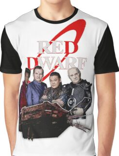 RED DWARF - SHIP AND CREW Graphic T-Shirt