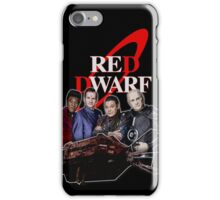 RED DWARF - SHIP AND CREW iPhone Case/Skin