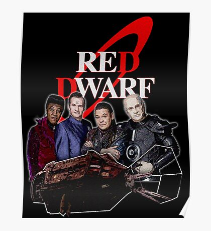 RED DWARF - SHIP AND CREW Poster