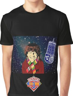 Doctor Jew - Tom Baker Graphic T-Shirt