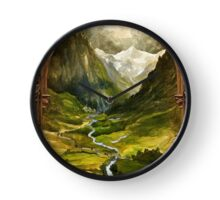 The Ring is taken to Rivendell Clock