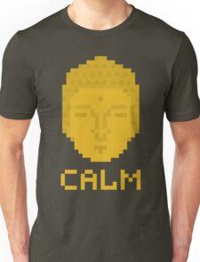 Calm pixel art buddha Unisex T-Shirt