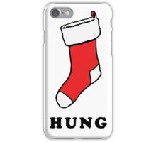 Hung Stocking iPhone Case/Skin