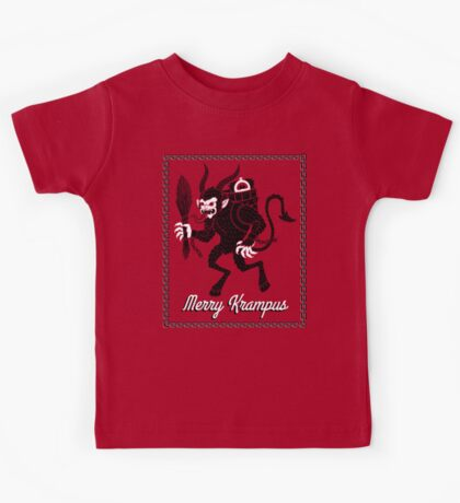 Merry Krampus! Kids Tee