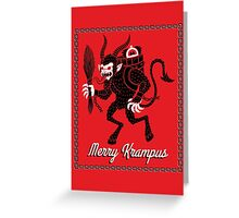 Merry Krampus! Greeting Card