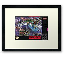 Turtles In Time! Framed Print