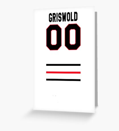 Griswold 00 - Clark Griswold Christmas Vacation Greeting Card