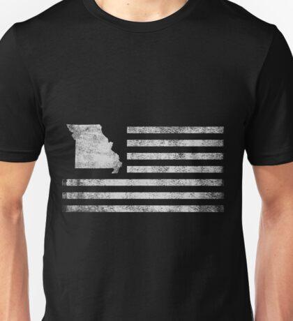 Missouri State United States Flag Vintage USA Unisex T-Shirt