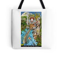 Queen of Swords Tote Bag