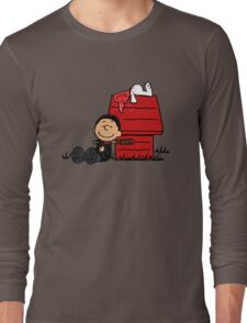 Negan Brown Long Sleeve T-Shirt