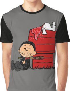 Negan Brown Graphic T-Shirt