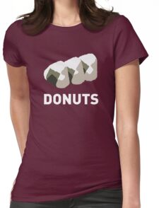 Jelly Donut Womens Fitted T-Shirt