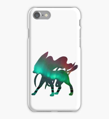 Suicune used aurora beam iPhone Case/Skin