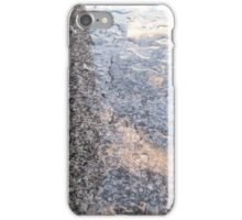 Abstract in blue iPhone Case/Skin