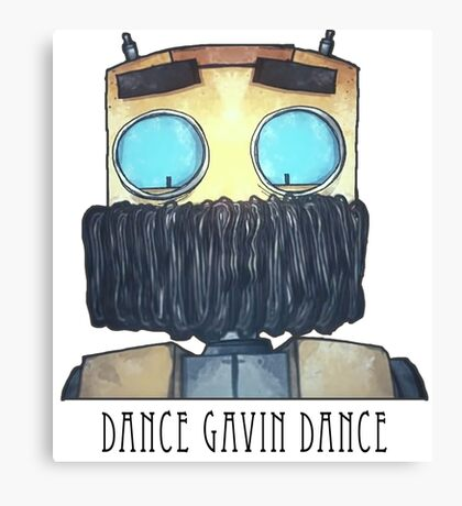Dance Gavin Dance Character (W/ Text) Canvas Print