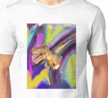 Tie dye dinosaur T-Rex Unisex T-Shirt