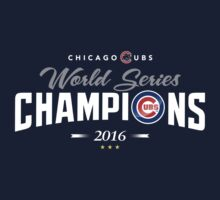 Chicago Cubs Champions 2 Kids Tee