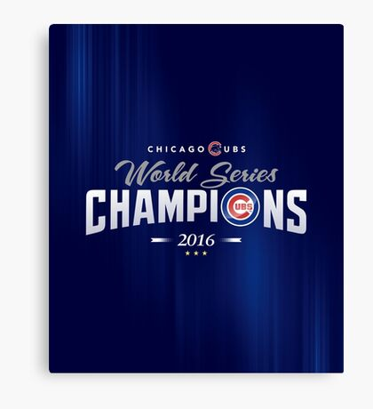 Chicago Cubs Champions 2 Canvas Print