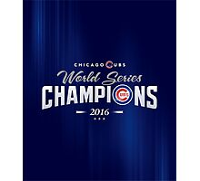 Chicago Cubs Champions 2 Photographic Print