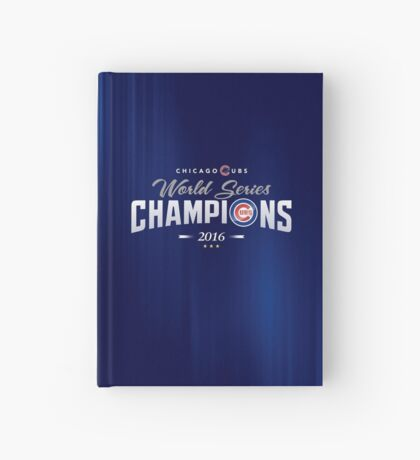 Chicago Cubs Champions 2 Hardcover Journal