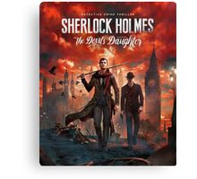 Detective Sherlock Holmes Canvas Print
