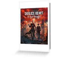 Detective Sherlock Holmes Greeting Card